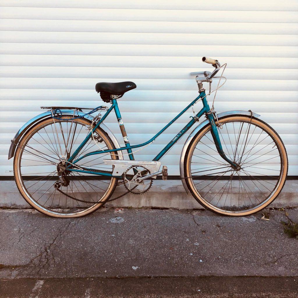 Exemple vélo avant réparation Ecocycle