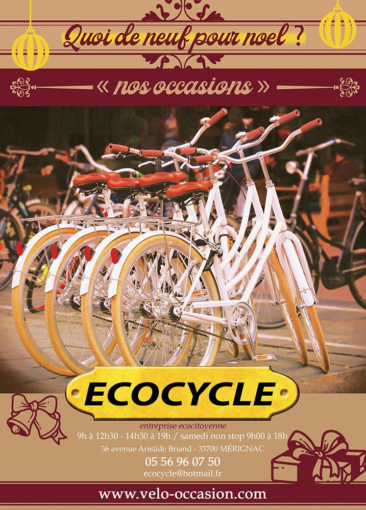 Cadeau de Noël vélo occasion