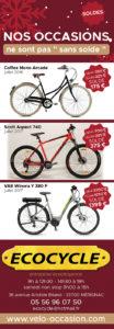 Soldes vélos bordeaux