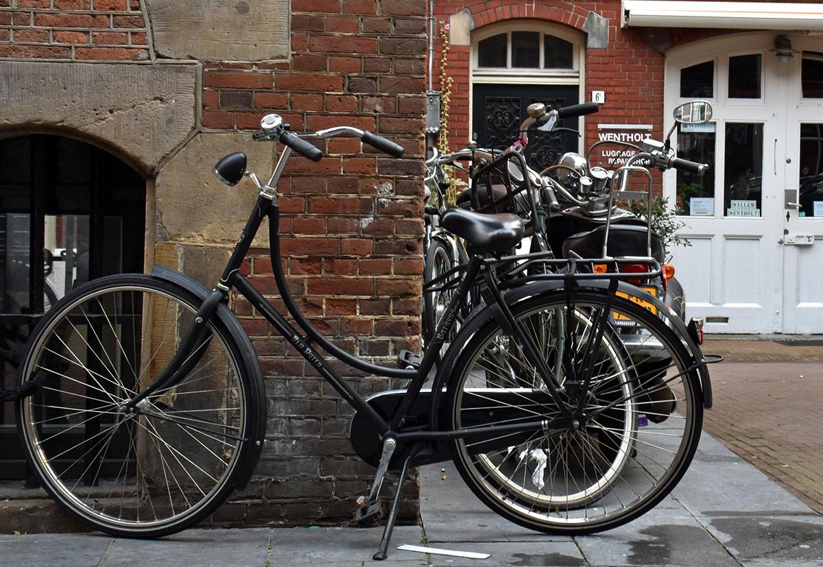 Vélo ville de grande taille