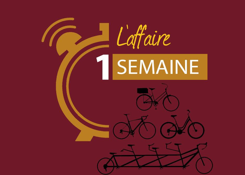 NOUVEAUTE 2020 : Le vélo de la semaine