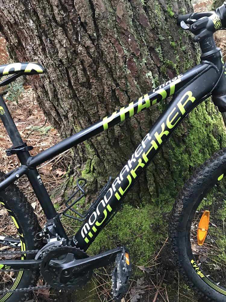 VTT Cannondale Mondracker - ph. Ecocycle