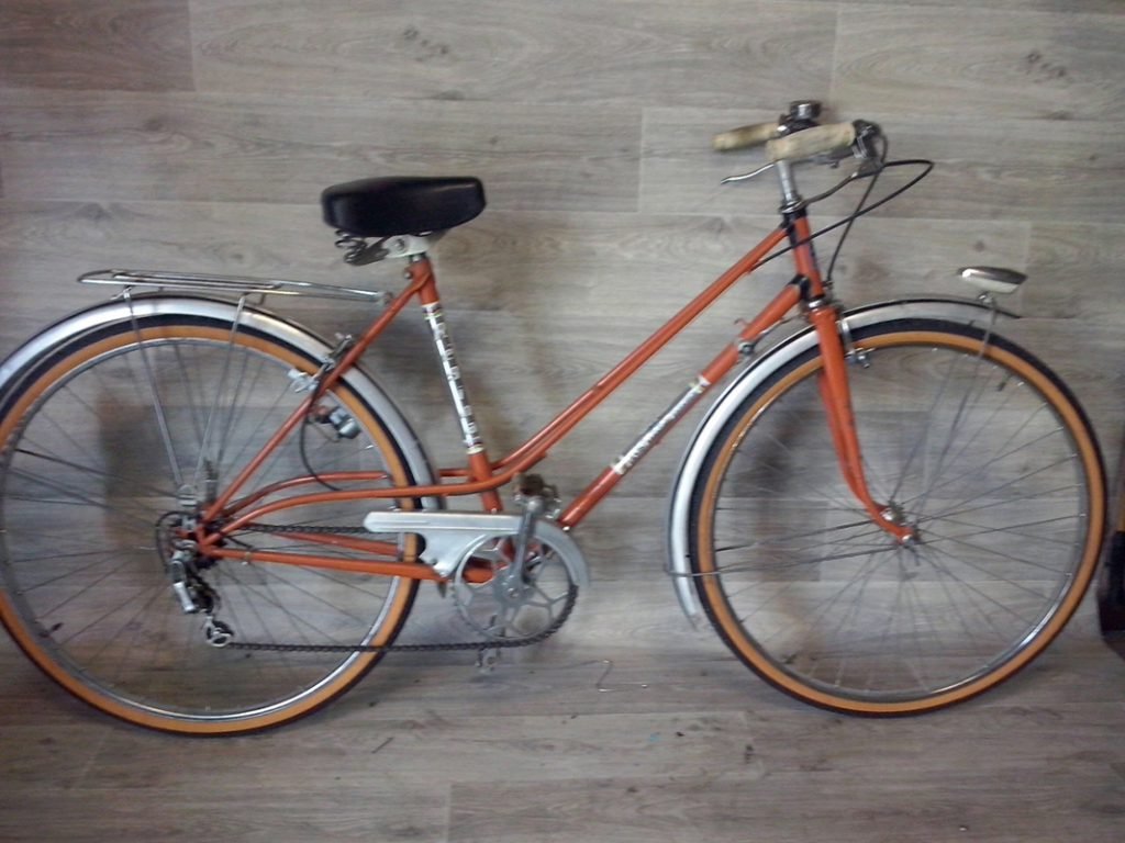 Vélo dame d'occasion