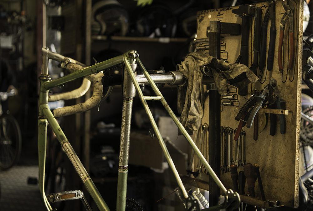 Votre vélo : réparation ou entretien