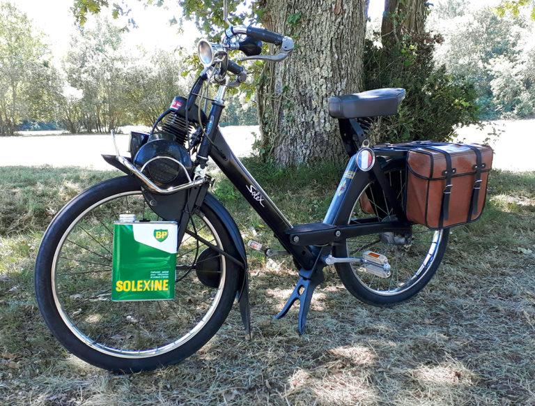 Restauration de vélo Solex sur Bordeaux